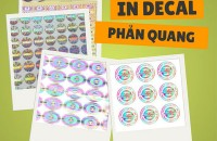 In decal tem phản quang